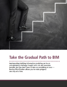 Take the Gradual Path to BIM