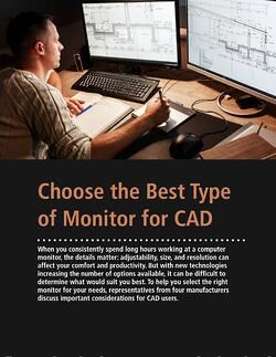 Choose the Best Type of Monitor for CAD